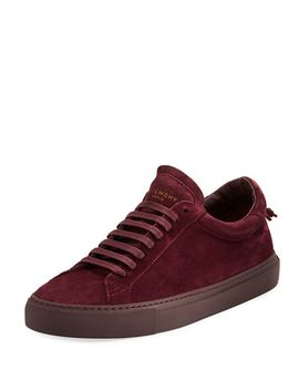 mens-urban-knot-suede-low-top-sneakers by givenchy