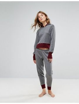lazy-days-hooded-sweat-and-tapered-jogger-pajama-set by lazy-days