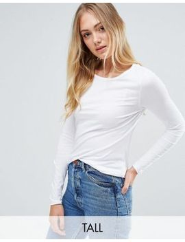 new-look-tall-long-sleeve-round-neck-top by new-look-tall