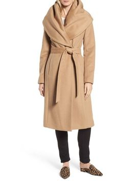 dkny-wool-blend-shawl-collar-wrap-coat by donna-karan-new-york