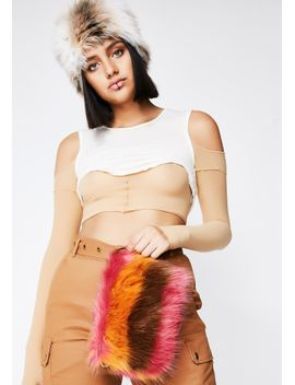 out-of-line-fuzzy-bag by ana-accessories