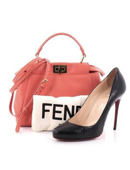 fendi-peekaboo-handbag-leather-mini by 1stdibs