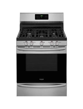 50-cu-ft-gas-range-with-self-cleaning-quickbake-convection-oven-in-smudge-proof-stainless-steel by frigidaire-gallery