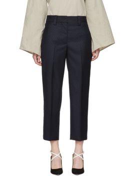 navy-wool-trea-suit-trousers by acne-studios