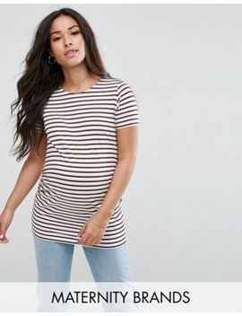 new-look-maternity-stripe-short-sleeve-t-shirt by new-look-maternity