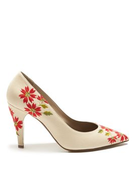 floral-embroidered-leather-pumps by loewe