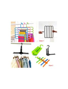 hot-5-multi-layer-racks-multifunctional-scarf-hanger-rack-skid-innovation-(2-styles-to-choose-from) by wish