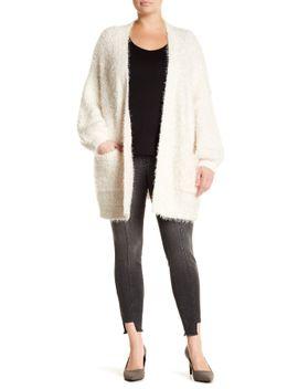 eyelash-knit-cardigan-(plus-size) by melrose-and-market