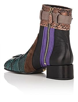 patchwork-ankle-boots by prada