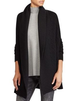 open-front-cashmere-cardigan by polo-ralph-lauren