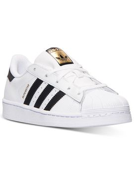 kids-superstar-casual-sneakers-from-finish-line by adidas