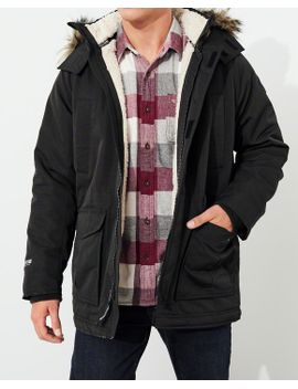 hollister-all-weather-sherpa-lined-parka by hollister
