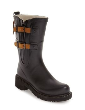 waterproof-buckle-detail-snow_rain-boot by ilse-jacobsen