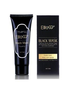 elite99-purifying-black-peel-off-mask,-charcoal-face-mask,-blackhead-remover-deep-cleanser,-acne-black-mud-face-mask by elite99