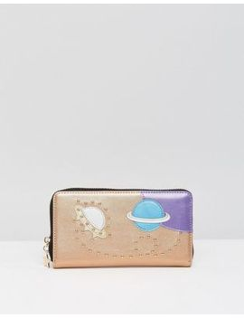 asos-cosmic-embellished-zip-around-purse by asos-collection