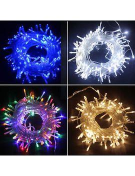 20_100_200_300<wbr>_500-led-fairy-string-lights-xmas-garden-tree-outside-inside-deck by ebay-seller
