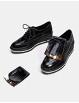 pantofi-derby-cu-platformă-și-clapetă-de-schimb-detașabilă by bershka