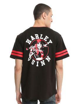dc-comics-harley-quinn-baseball-jersey by hot-topic