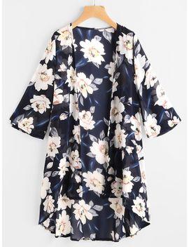 allover-floral-print-kimono by sheinside