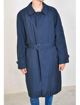 vintage-90s-coat-in-dark-blue by no-brand-name