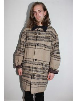 vintage-80s-aztec-pattern-coat by no-brand-name