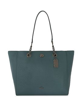 leather-turnlock-closure-tote by coach