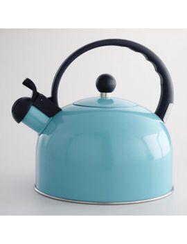 aqua-enamel-tea-kettle by world-market