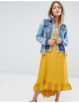 river-island-patchwork-denim-jacket by river-island