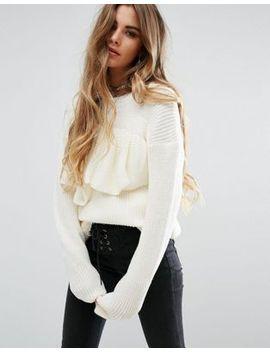 rokoko-sweater-with-frill by rokoko
