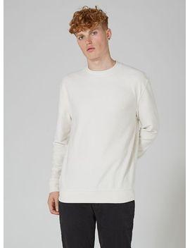 classic-white-reverse-sweatshirt by topman