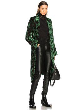 velvet-coat by ann-demeulemeester