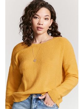 keyhole-back-jumper-knit-top by forever-21
