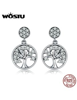 wostu-hot-sale-authentic-925-sterling-silver-tree-of-life-drop-earrings-for-women-fashion-brand-jewelry-gift-for-friends-cqe067 by aliexpresscom