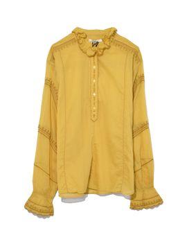 dusty-yellow-louna-top by shopbazaar