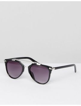 pieces-brow-bar-sunglasses by pieces