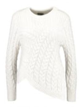 assymetric-cable---strickpullover by topshop