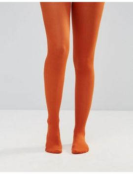 asos-40-denier-tights-in-rust by asos-collection