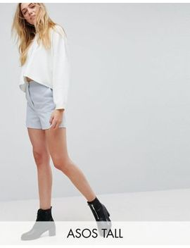 asos-tall-tailored-a-line-shorts by asos-tall