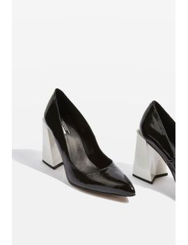gospel-statement-pointed-heel--shoes by topshop