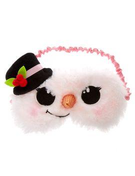 sophia-snowman-sleep-mask by claires