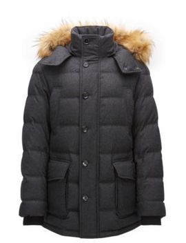 relaxed-fit-parka-in-a-wool-blend by boss