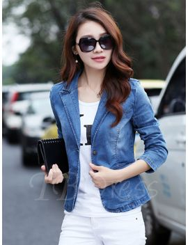 blue-lapel-slim-womens-blazer by blue-lapel-slim-womens-blazer