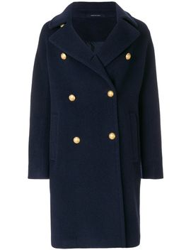 button-embellished-tailored-coat by tagliatore