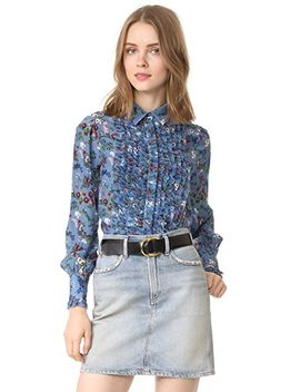 dorsey-ruffle-front-blouse by alice-+-olivia