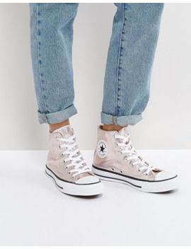 converse-–-chuck-taylor-all-star-–-sneaker-mit-hohem-schaft-in-rosa-metallic by converse