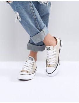 converse-–-chuck-taylor-ox-–-sneaker-in-gold-metallic by converse