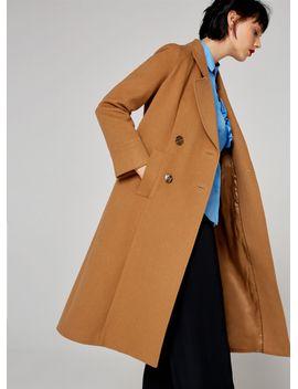 basic-camel-coat by uterqüe