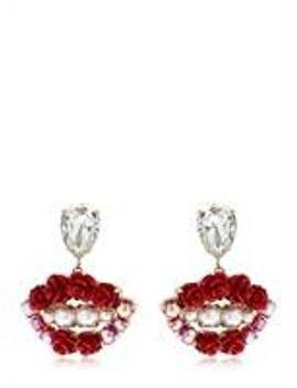 lips-blossom-earrings by bijoux-de-famille