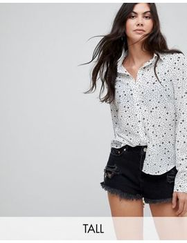 glamorous-tall-relaxed-blouse-in-star-and-polka-dot by glamorous-tall