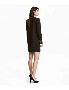 dress-with-rhinestones by h&m